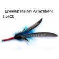 Purrs Feather Spinner Attachment - Fits PurrSuit, Frenzy & DaBird Rods